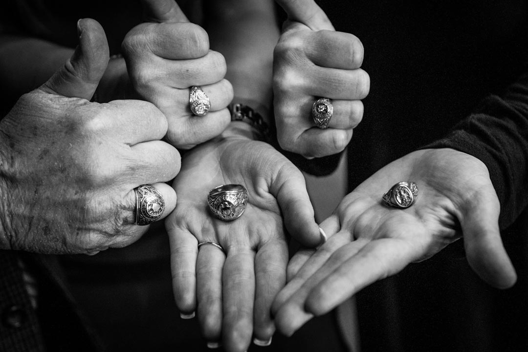 Generations of Aggie Rings
