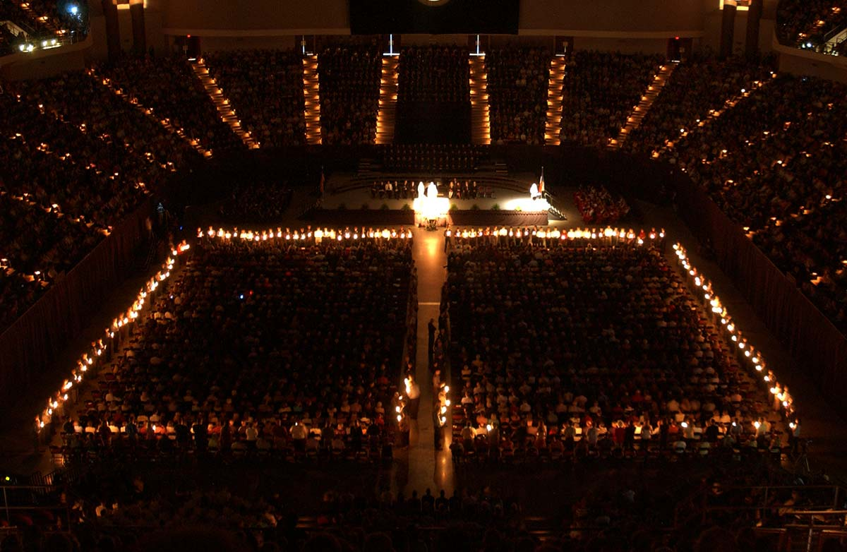 today muster is celebrated in more than 300 locations worldwide with the largest ceremony taking place on the texas am campus in college station - Muster