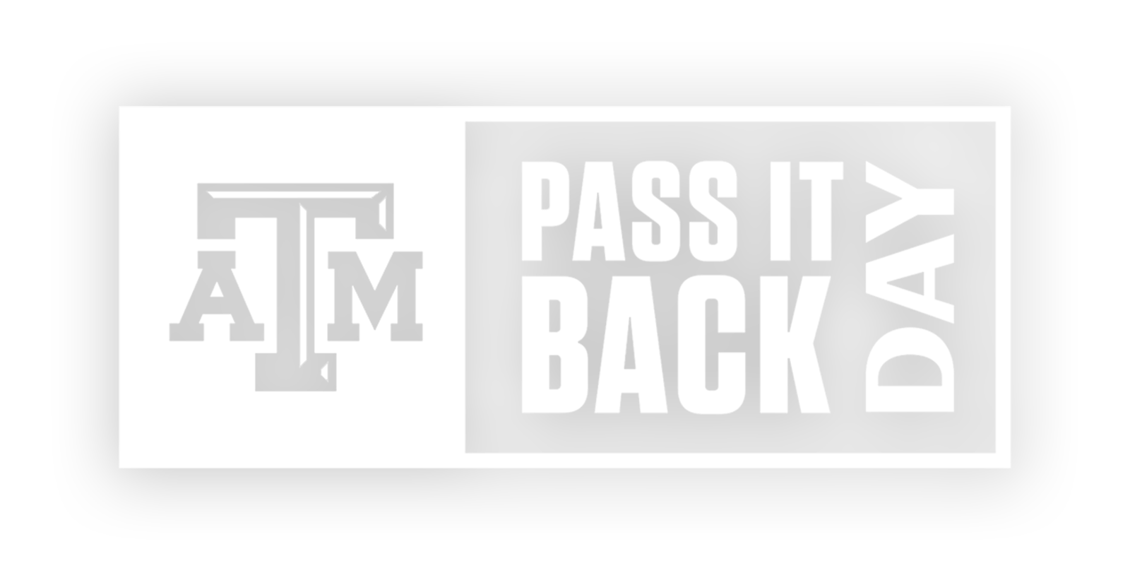 Pass It Back Day