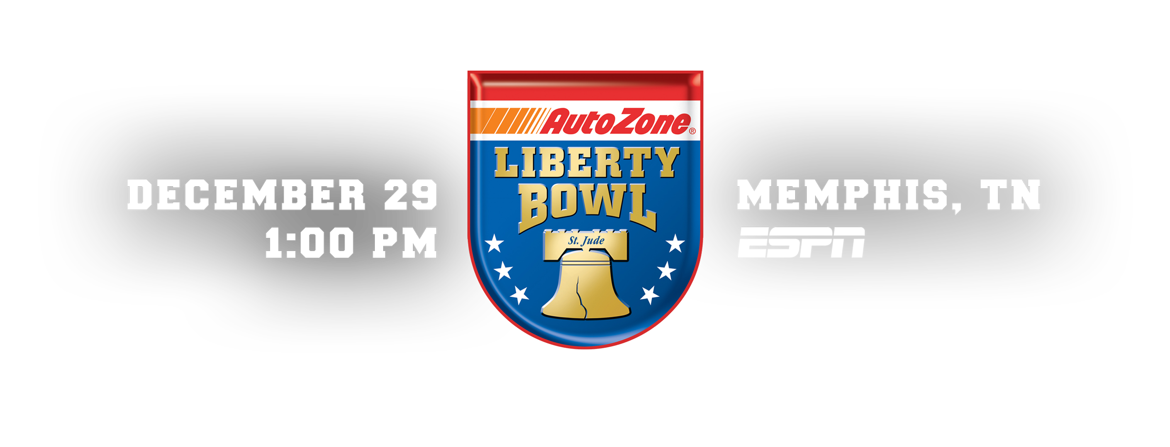 Liberty Bowl in Memphis, TN - December 29, 1:00 PM on ESPN