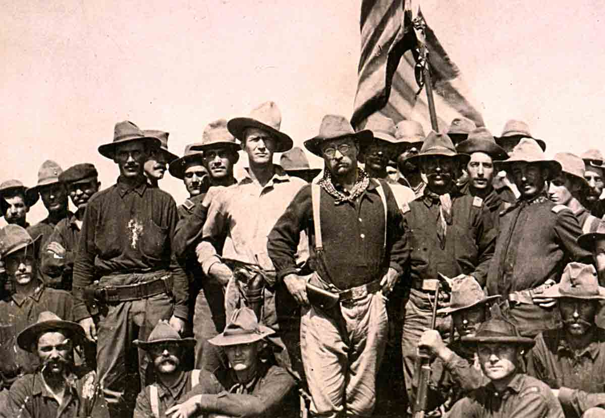 Theodore Roosevelt and his Rough Riders