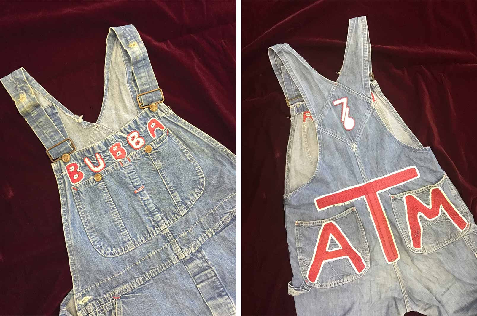 Jim Bob Mickler's 1976 Yell Leader overalls