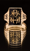 A 1890 Aggie Ring, the oldest known Ring.