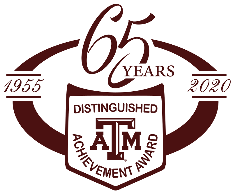 Distinguished Achievement Award - Celebrating 65 Years 1955-2020