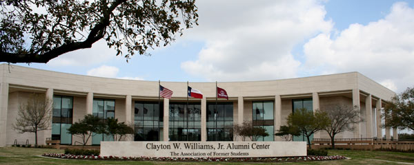 The Clayton W. Williams, Jr. Alumni Center