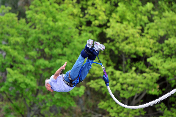 Aggie Bungee Jumping