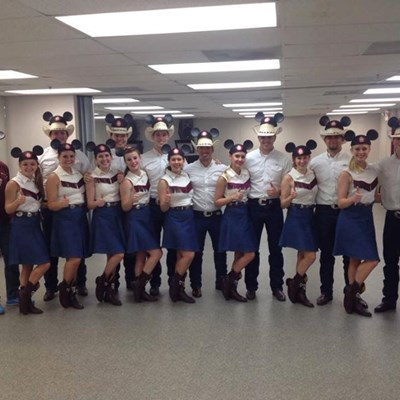 Aggie Wranglers Perform At Disney