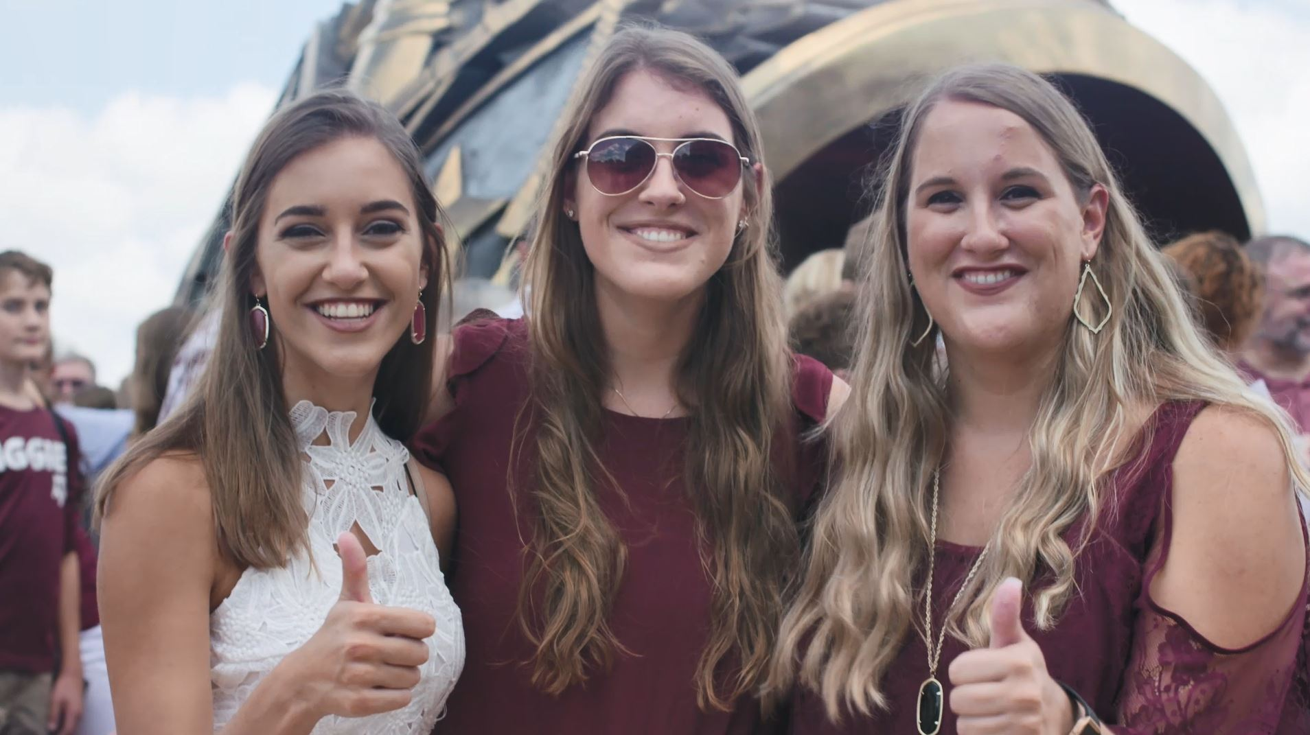 Around The Association: The Washburn Triplets At Ring Day