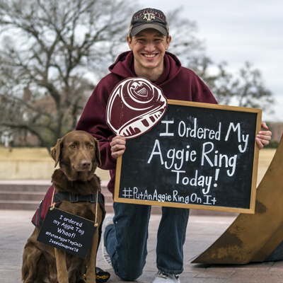 Association Sees Largest Aggie Ring Order Yet