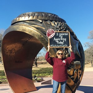 45 Years After She Started, Aggie Earns Her Ring And Degree