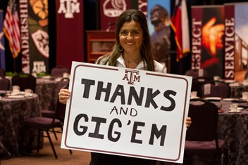 Students and traditions at Texas A&M are supported by your gift!