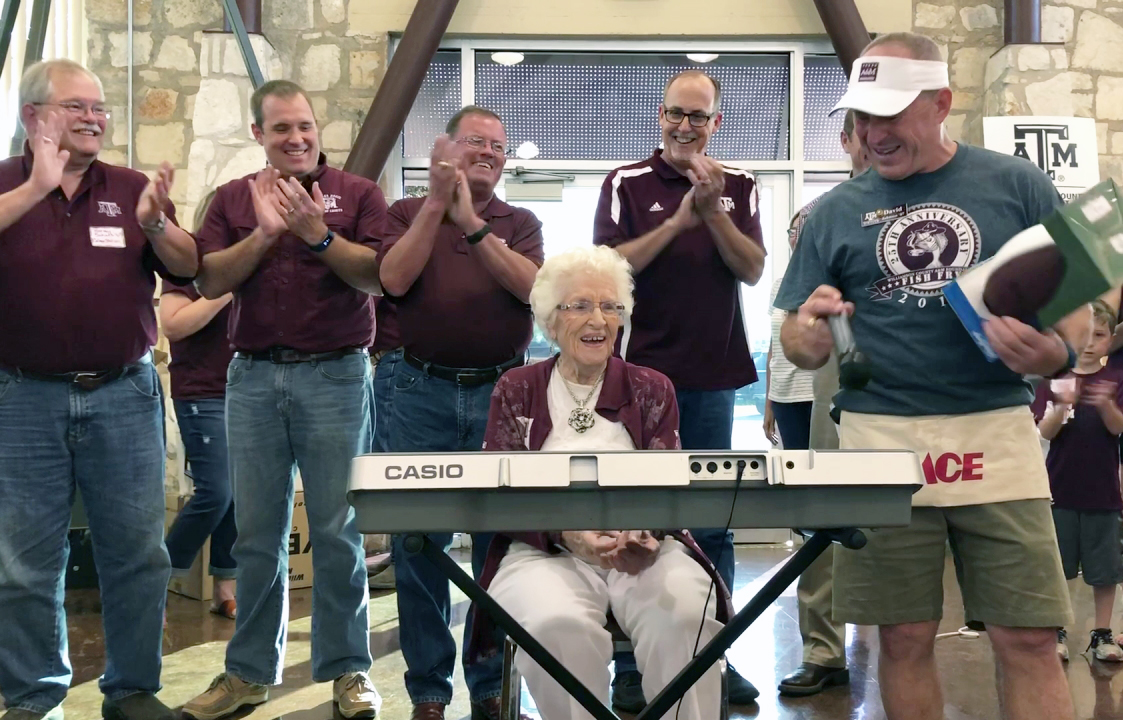 Early copy of War Hymn donated to Texas A&M