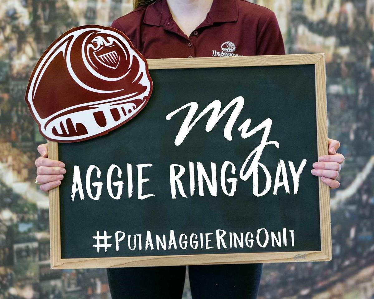 Rain In The Forecast For Aggie Ring Day