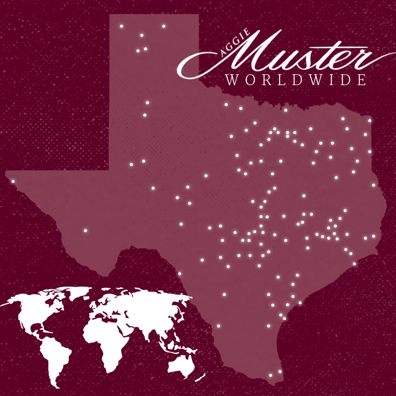 Many Aggie Musters To Be Held April 22 In 2019