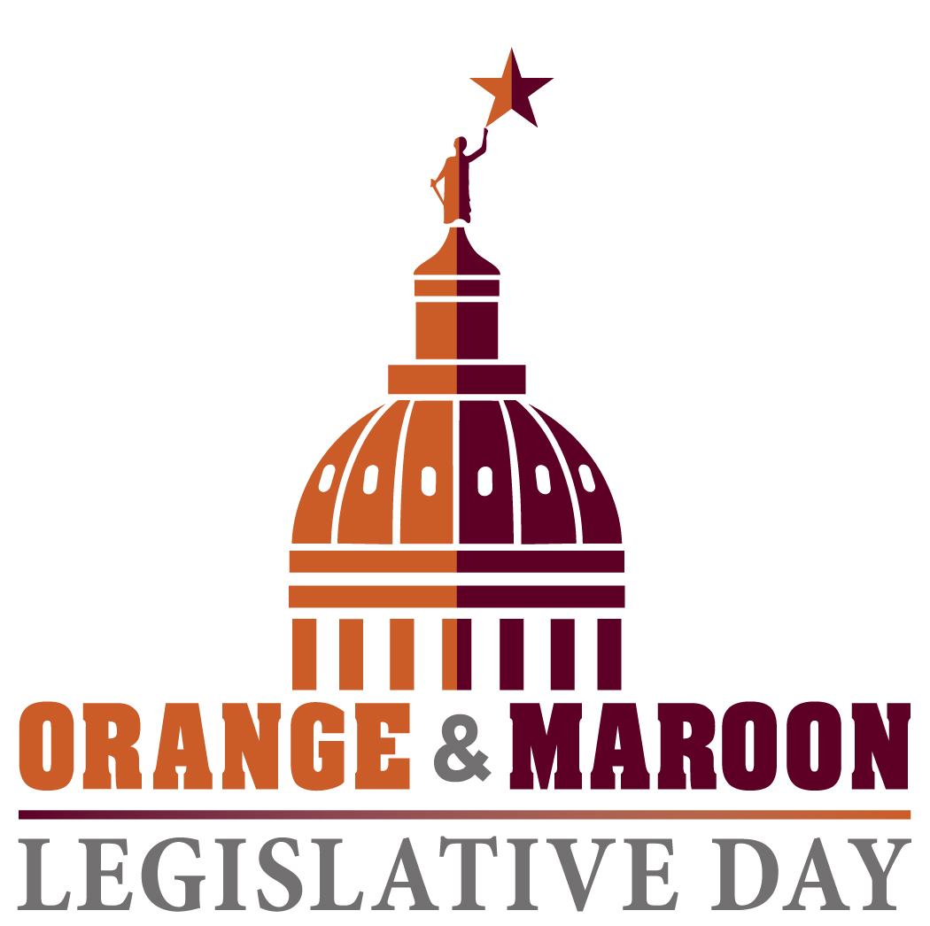 Orange and Maroon Will Cover Texas Capitol Feb. 5