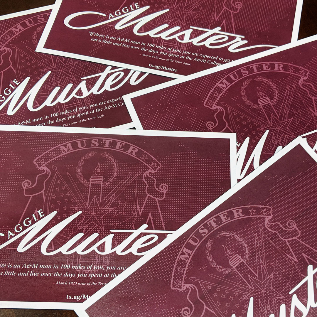 Muster Postcards Going Out Soon; Update Your Contact Info