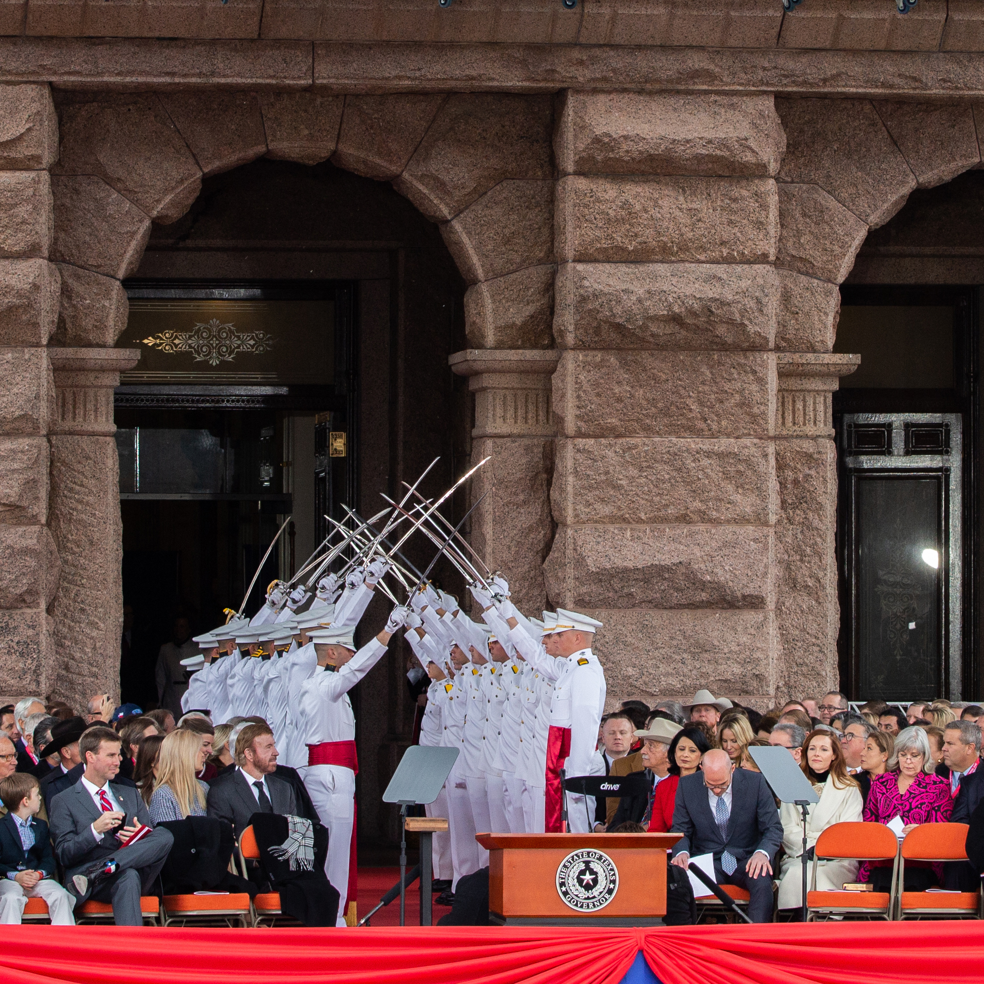 A&M Groups Part of Governor's Inauguration