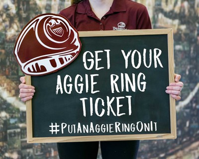How To Get Your Aggie Ring Ticket