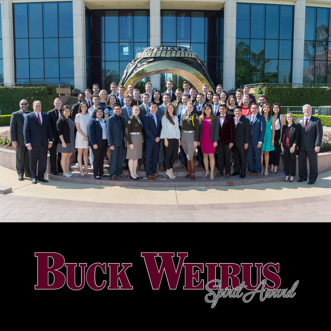 2019 Buck Weirus Spirit Award Winners Named