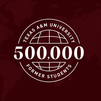 Aggie Network Is Half A Million Strong
