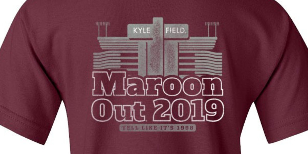 New Maroon Out Shirts Call Back To 1998