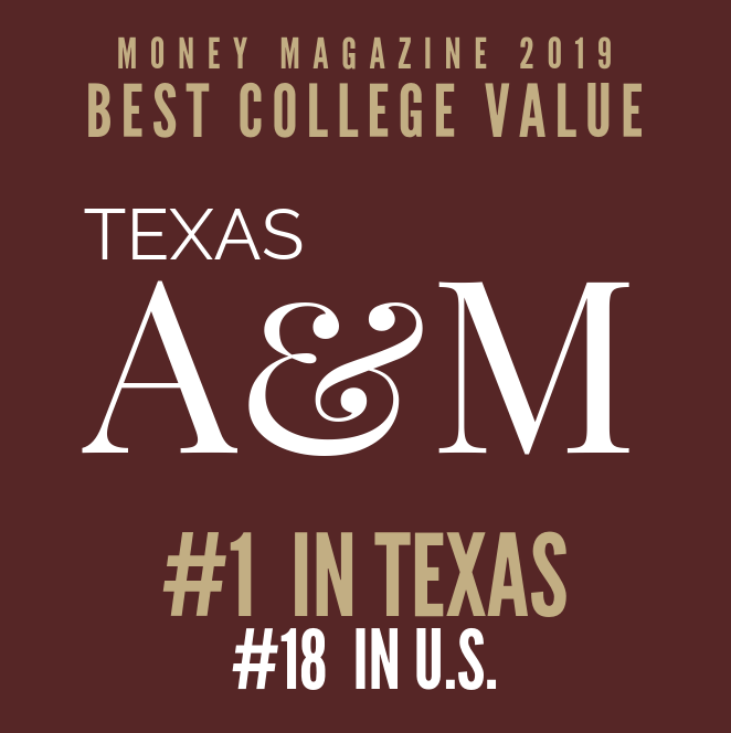Money Magazine Names A&M Best Value In Texas