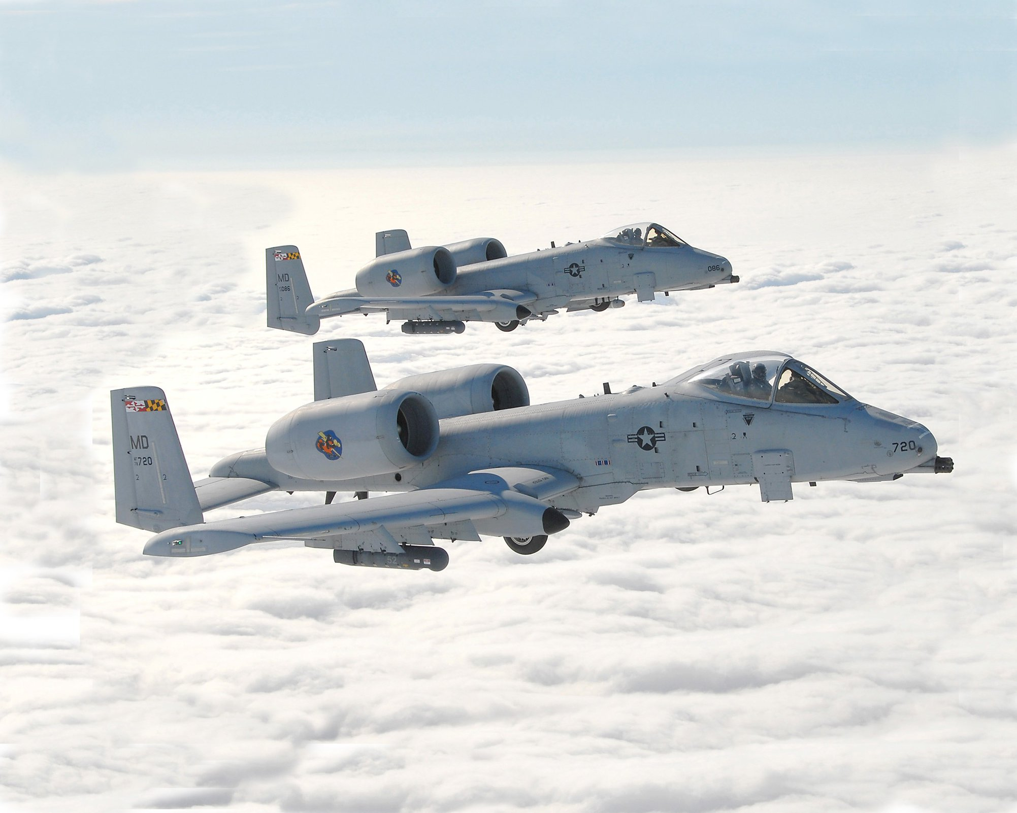 2 Hours Before Game, A-10s To Fly Over Campus Twice