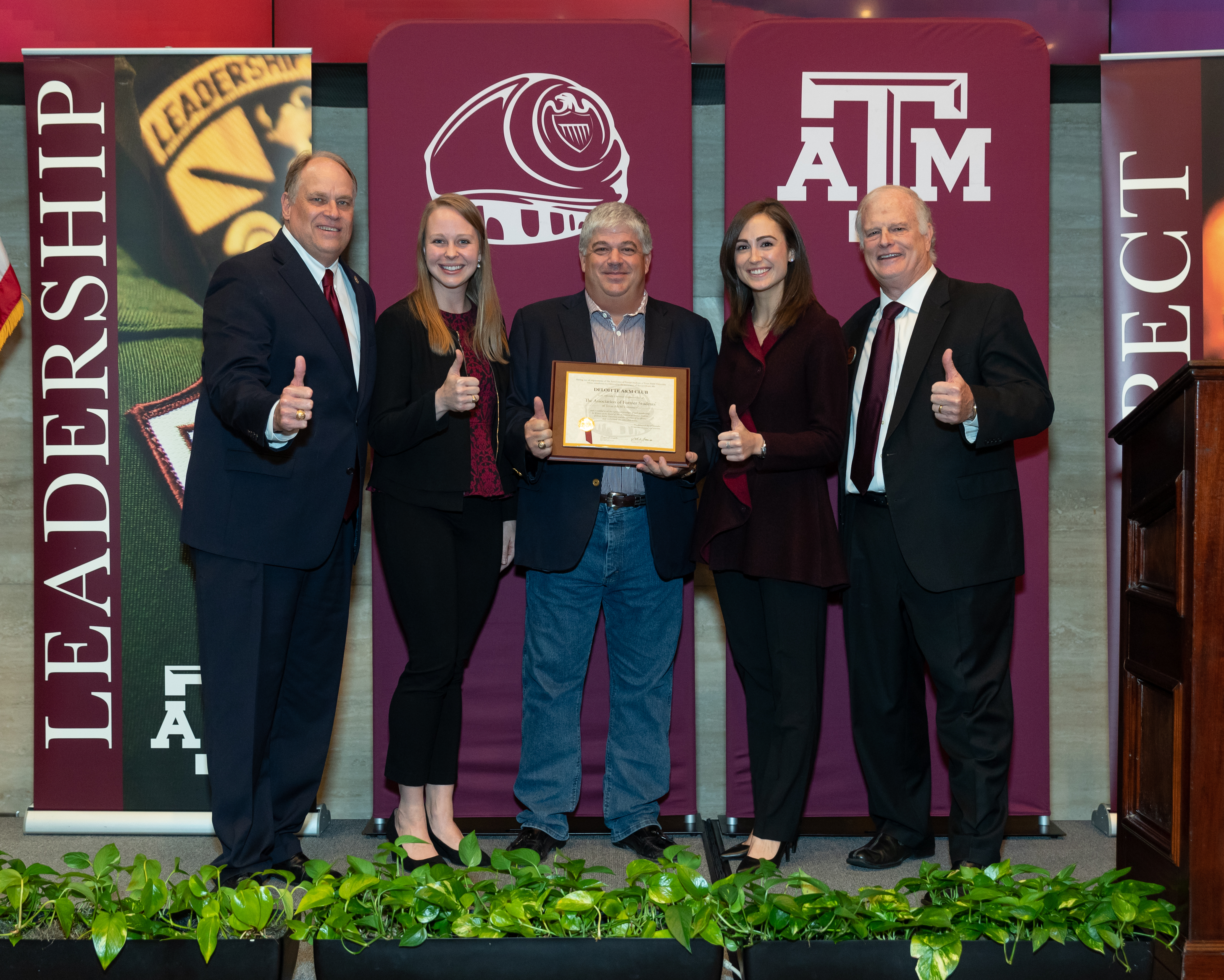 Deloitte Chartered As Second Corporate Texas A&M Club
