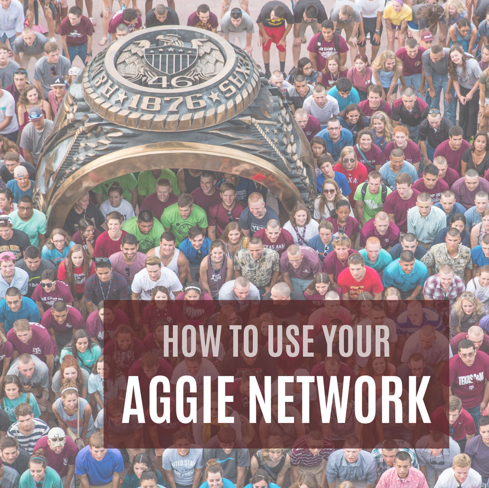 How to Use Your Aggie Network