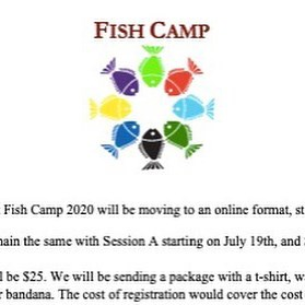 Fish Camp, T-Camp Go Virtual for 2020