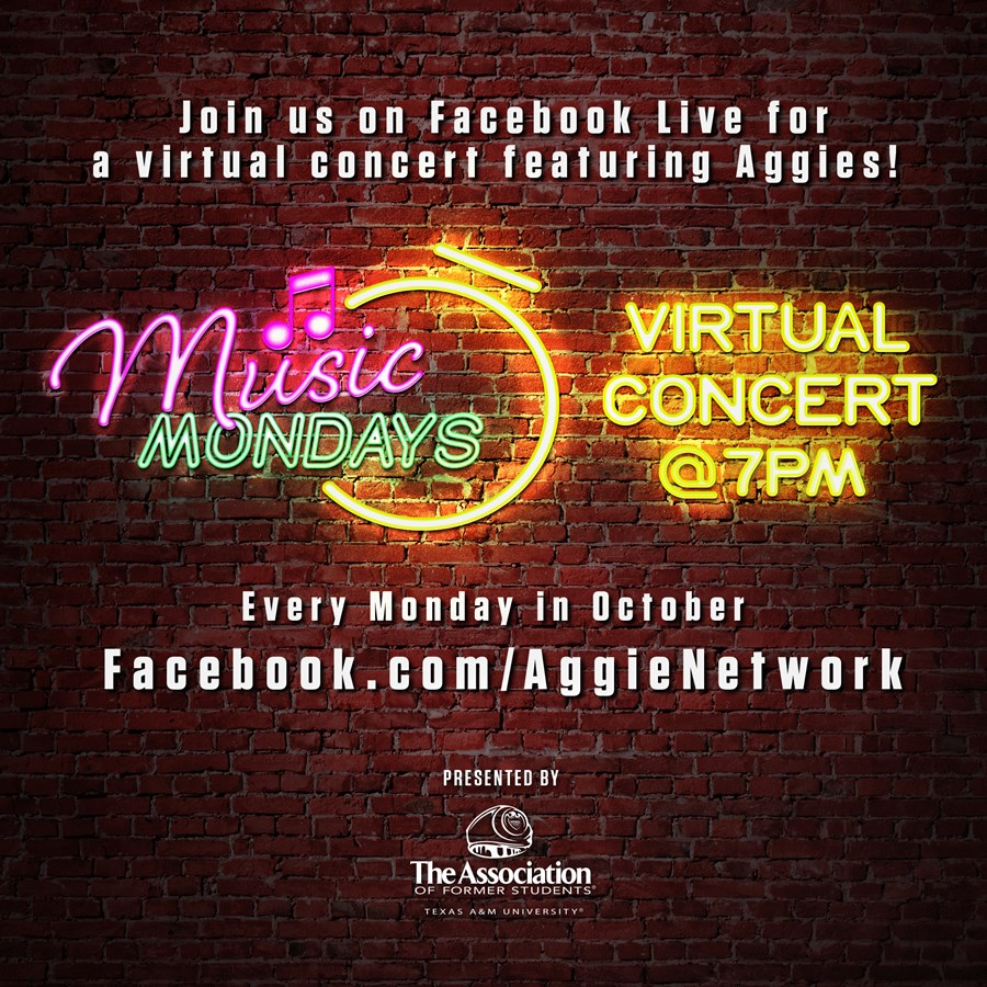 Music Mondays Virtual Concert Series Highlights Aggies