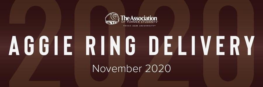 November 2020 Aggie Ring Distribution FAQ