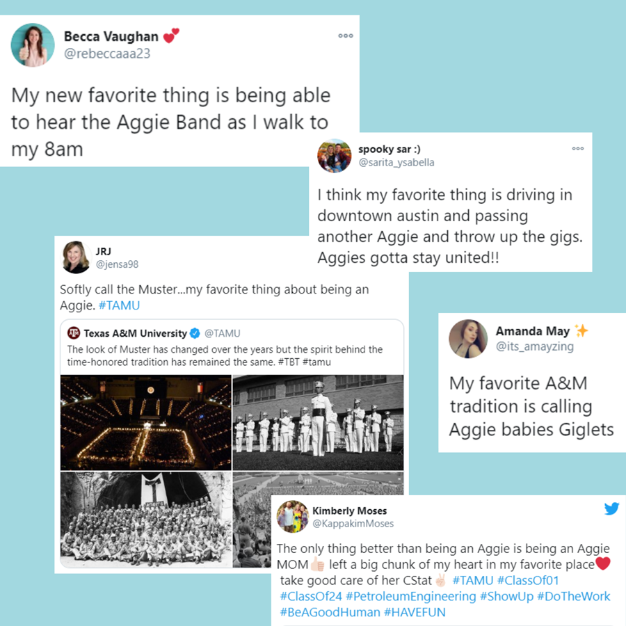 Favorite Things About Being An Aggie