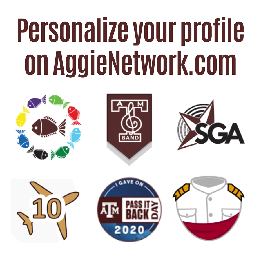 Personalize Your AggieNetwork Profile